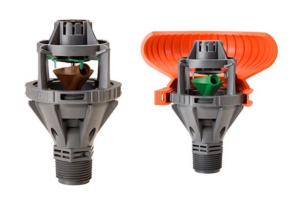 how to clean orbit irrigation filter spray heads